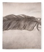 Feather Fleece Blanket
