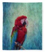 Feathered Friend Fleece Blanket