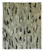 Feathered Fleece Blanket