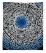 Feathered Portal Original Painting Fleece Blanket