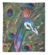 Feathered Splendor Fleece Blanket
