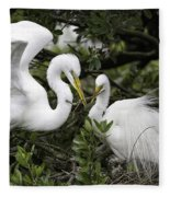 Feathering Their Nest Fleece Blanket