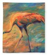 Feathers Fleece Blanket