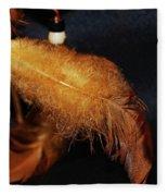 Feathers Of A Dreamcatcher 1 Fleece Blanket