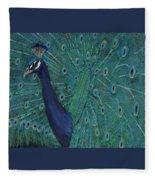Feathery Fan Fleece Blanket