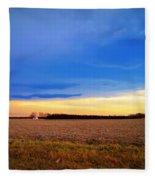 February Fields Fleece Blanket