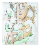 Fecundity Fleece Blanket