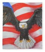 Feeling Patriotic Fleece Blanket