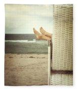 Feet Fleece Blanket