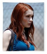 Felicia Day Fleece Blanket
