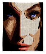 Female Expressions Lvi Fleece Blanket