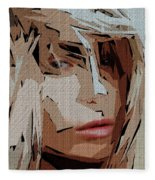 Female Expressions Xx Fleece Blanket