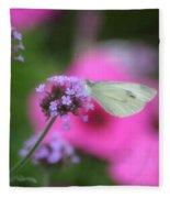 Feminine Side Of Nature Fleece Blanket