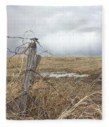 Fencepost Fleece Blanket