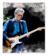 Fender Man Fleece Blanket