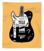 Fender Telecaster 52 Fleece Blanket