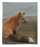 Ferdinand Fox  Fleece Blanket