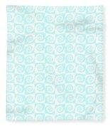 Fermat Spiral Pattern Effect Pattern. Fleece Blanket