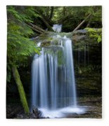 Fern Falls Fleece Blanket