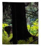 Fern Forest Fleece Blanket