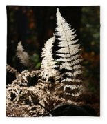 Fern Glow 2 Fleece Blanket