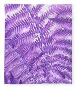 Fern Passion Fleece Blanket