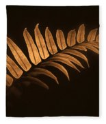Fern Zen Fleece Blanket