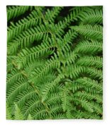 Ferns Au Naturale Fleece Blanket