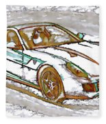 Ferrari 1 Fleece Blanket