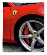 Ferrari 488gtb Fleece Blanket