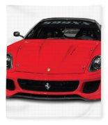 Ferrari 599xx Fleece Blanket