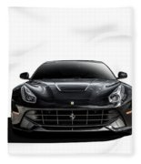 Ferrari F12 Berlinetta Fleece Blanket