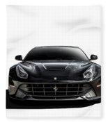 Ferrari F12 Berlinetta Fleece Blanket