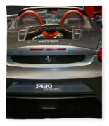 Ferrari F430 Spyder Convertible Fleece Blanket