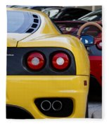 Ferrari Pair Fleece Blanket