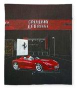 Ferrari Pininfarina Rossa Concept Fleece Blanket