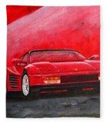 Ferrari Testarrossa Fleece Blanket