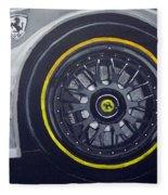 Ferrari Wheel Fleece Blanket