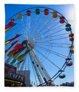 Ferris Wheel 6 Fleece Blanket
