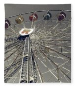 Ferris Wheel 5 Fleece Blanket