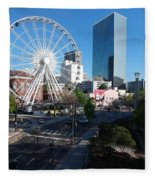 Ferris Wheel Atl Fleece Blanket