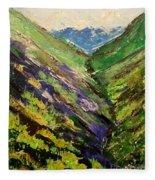 Fertile Valley Fleece Blanket