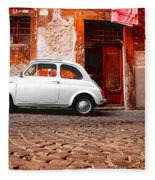 Fiat 500 Fleece Blanket