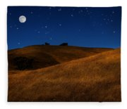 Field Formation Fleece Blanket
