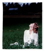 Field Of Dreams Fleece Blanket
