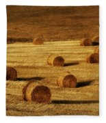 Field Of Gold #1 Fleece Blanket