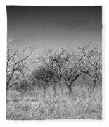 Field Of Trees Fleece Blanket