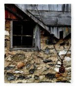 Field Stone Barn Fleece Blanket
