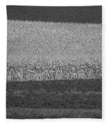 Fields Near Madison Fleece Blanket
