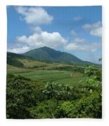 St. Kitts Fields Of Cane Fleece Blanket